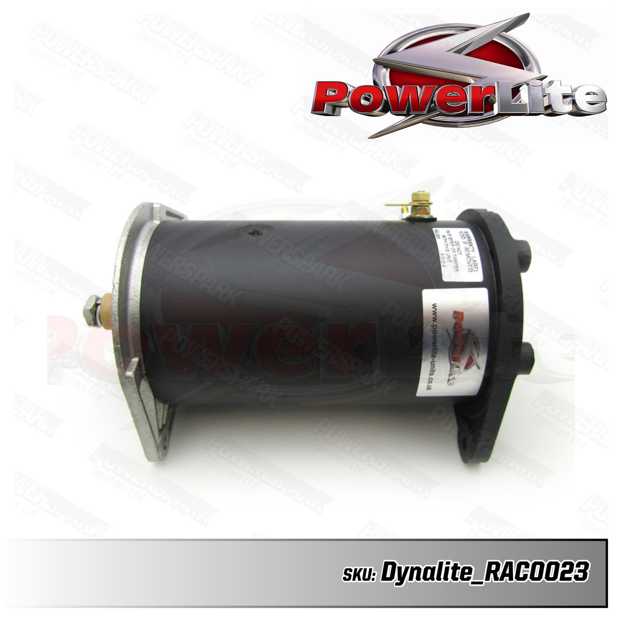 Dynalite Dynamo to Alternator Conversion replaces Lucas C42 Dynamo - Neg Earth with Power Steering (RAC023)