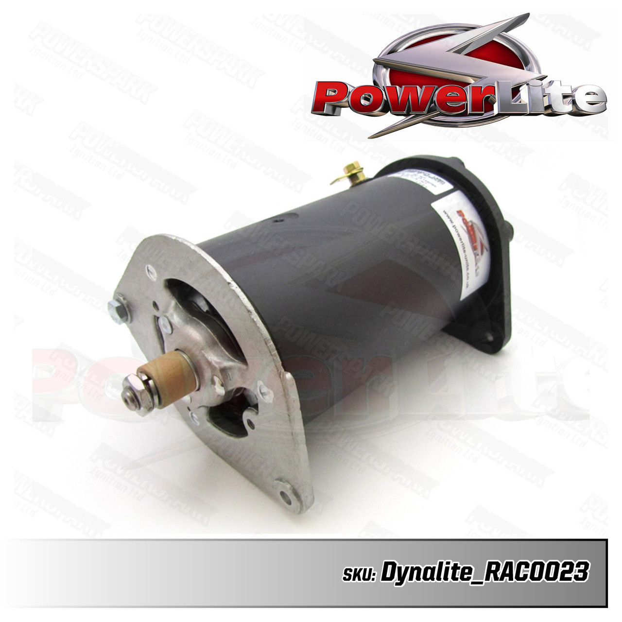 Dynalite Dynamo to Alternator Conversion replaces Lucas C42 Dynamo - Neg Earth with Power Steering - RAC023