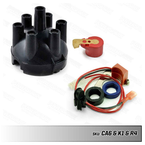 Lucas Lucas 22D6 and 25D6 Electronic Ignition Distributor Upgrade Kit