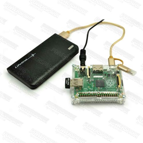 Lifeline Lifeline Pocket 6k 6,000mAh Portable Powerbank USB Battery Charger