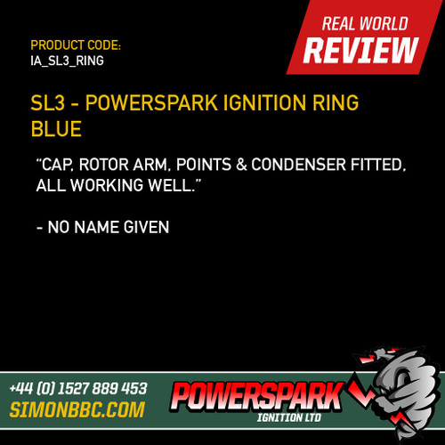 SL3 - Powerspark Ignition Ring Blue