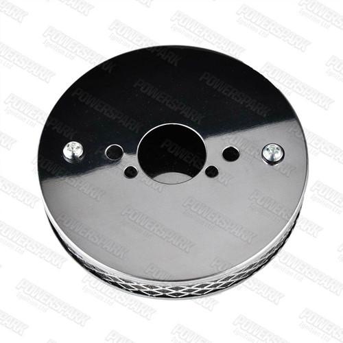 Chrome Pancake Performance Air Filter HS2 1 1/4 inch