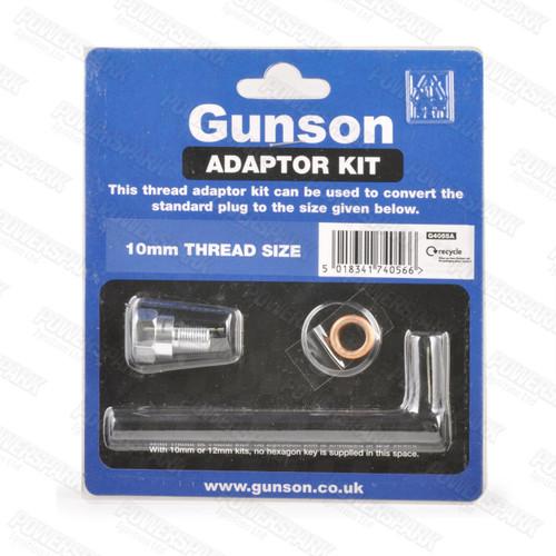 Gunson Gunson Hi Gauge Plug Adaptor Kit 10mm G4055A