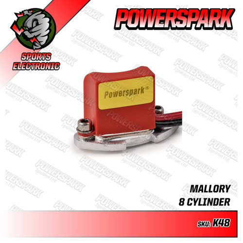 Powerspark Powerspark Electronic Ignition Kit for Mallory Distributor K48