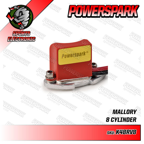 Powerspark Powerspark Electronic Ignition Kit for Mallory Distributor K48rv8