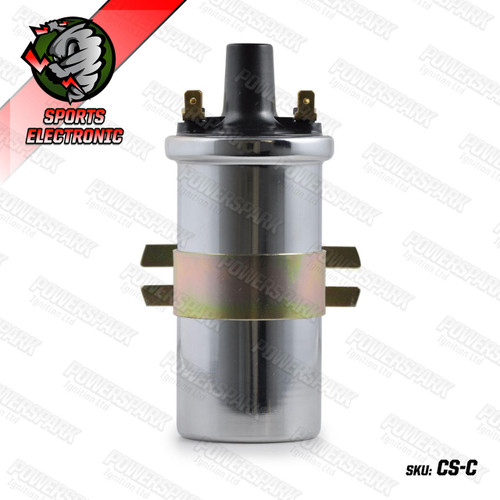 Powerspark Powerspark Standard 3 Ohm Non Ballast Ignition Coil replaces DLB105 SILVER