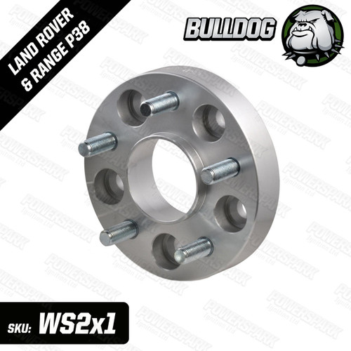 Bulldog 1 Single Bulldog 30mm Wheel Spacer To Fit Land Rover Discovery 2 and Range Rover P38