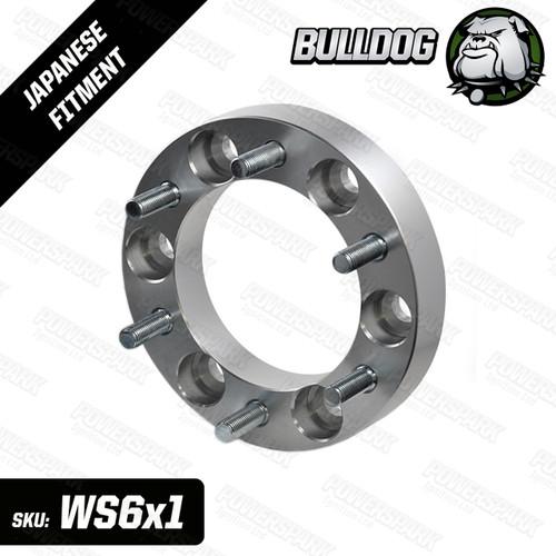 1 Single Bulldog 30mm Wheel Spacer To Fit 6 Stud Toyota, Mitsubishi, Isuzu, Ford, Vauxhall 4x4 Vehicles