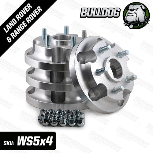 Bulldog Bulldog Hub Adapters to allow you to fit Range Rover L322, Discovery 3, 4 and Range Rover Sport wheels to the Land Rover Defender, Discovery 1 and Range Rover Classic