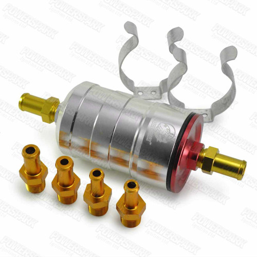 Powermax Powermax High Flow High Pressure Fuel Filter with Paper Filter