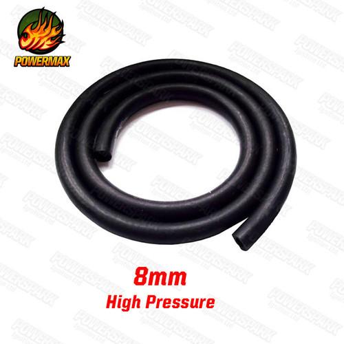 Powermax Powermax High Pressure Braided Fuel Hose Line 8mm