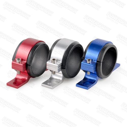 Powermax Powermax Billet Aluminium Fuel Pump Clamp Anodised Silver