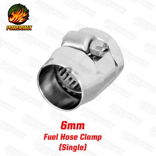Powermax Powermax Magna Fuel Hose Clamp 6mm Single