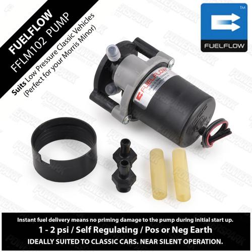 Fuel Flow FuelFlow ECCO FFLM102 SU Fuel Pump low pressure