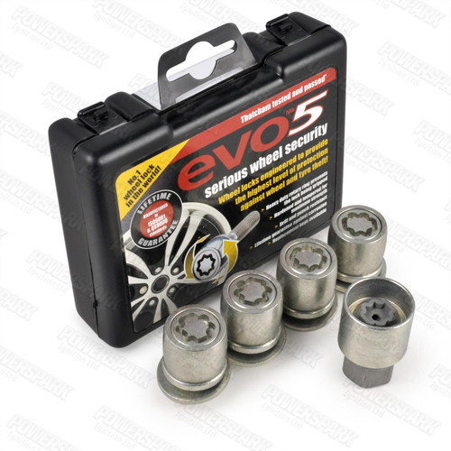 Evo MK5 Evo MK5 Locking Alloy Wheel Bolts 863/5 for Land rover Discovery 3 and Range Rover Sport