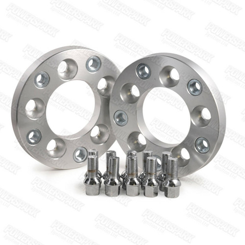 Bulldog 20mm Wheel Adapters to put Porsche 5 x130 Wheels on Volkswagen 5x112 PCD Vehicles Set of 2