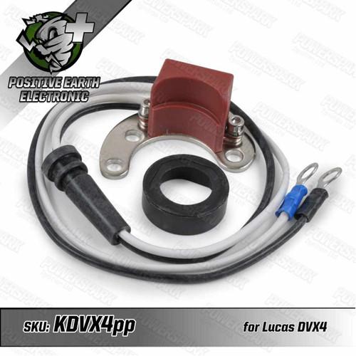 Powerspark Powerspark Electronic Ignition Kit for Lucas DVX4 Distributor Positive Earth KDVX4pp