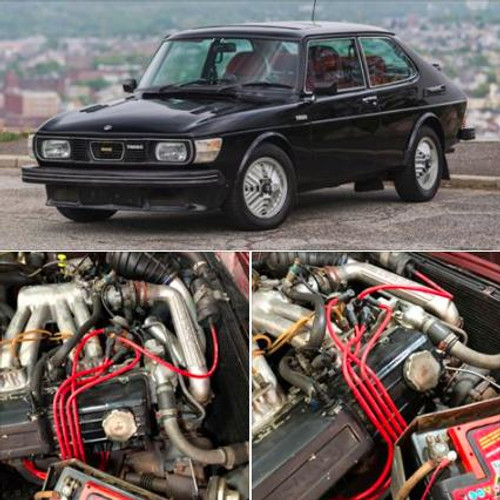 Powerspark Saab 99 Turbo HT Leads 8mm Double Silicone