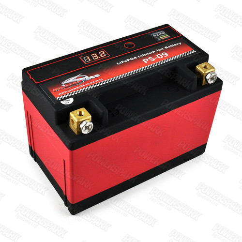 Powerlite Lithium Ion Battery Lightweight High Cold Cranking Amps LiFePO4