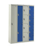 express lockers blue and light grey