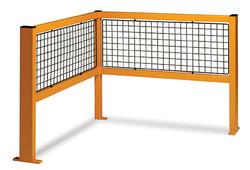 Corner barrier