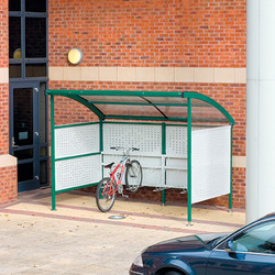 Premier Cycle Shelter Perforated Panels