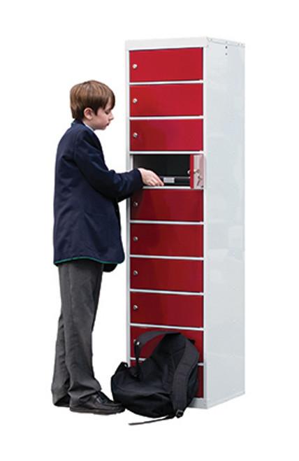 Laptop Storage Lockers 10 Compartment