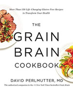 The Grain Brain Cookbook, cover
