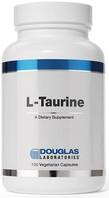 Douglas Laboratories, L-Taurine, 100 Vegetarian Capsules, bottle