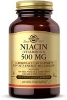 Solgar Niacin (Vitamin B3) 500 mg, 100 Vegetable Capsules