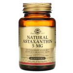 Natural Astaxanthin 5 mg, 60 Softgels, bottle