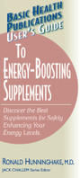 User's Guide to Energy Boosting Supplements, cover