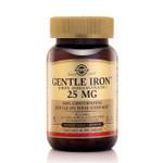 Solgar Gentle Iron 25 mg, 90 Vegetable Capsules, bottle
