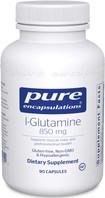 Pure Encapsulations L-Glutamine 850 mg, 90 Capsules, bottle