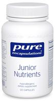 Pure Encapsulations Junior Nutrients, 120 Capsules, bottle