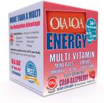 Ola Loa Energy Cran-Rasberry Fizzy Drink Mix, 30 Packets, box