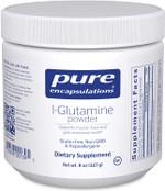 Pure Encapsulations L-Glutamine Powder, 227 g, 8 oz, container