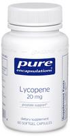 Pure Encapsulations Lycopene 20mg, Prostate Support, 60 Softgel Capsules