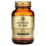 Solgar Lutein 20 mg, Eye Health, 60 Softgels, bottle