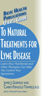 User's Guide to Natural Treatments for Lyme Disease, cover