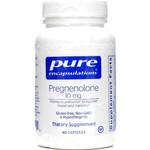 Pure Encapsulations Pregnenolone 10 mg, 60 Capsules, bottle