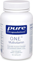 Pure Encapsulations O.N.E. Multivitamin, 60 Capsules, bottle