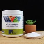 Riordan Clinic MSM Powder, 1 Pound. White Powder