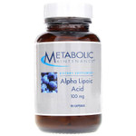 Metabolic Maintenance Alpha Lipoic Acid 100 mg, 90 Capsules, bottle