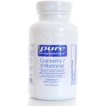 Pure Encapsulations Cranberry d-Mannose, 90 Capsules, bottle
