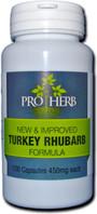 Pro Herb Turkey Rhubarb Formula 450 mg, 100 Capsules, bottle