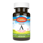 Carlson Vitamin A 25,000 IU, 100 Soft Gels, bottle
