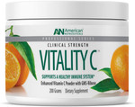 American Nutriceuticals Clinical Strength Vitality C 200 Grams, container