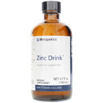 Metagenics Zinc Drink Liquid Drink Supplement, 4.7 fluid ounces, 140 milliliters, bottle