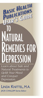 User's Guide to Natural Remedies for Depression, cover
